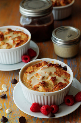 Bitter and Blanc Bread Pudding Recipe -- TheTravelBite.com