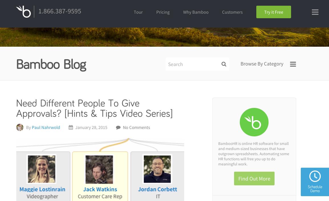 Bamboo B2B Website Design