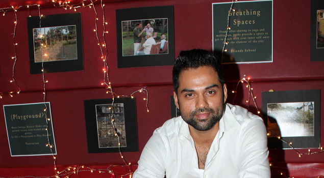 Abhay Deol at PVR Nest screening. (Photo: IANS)