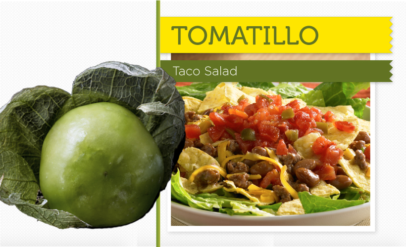 Taco Salad with Tomatillo Recipe