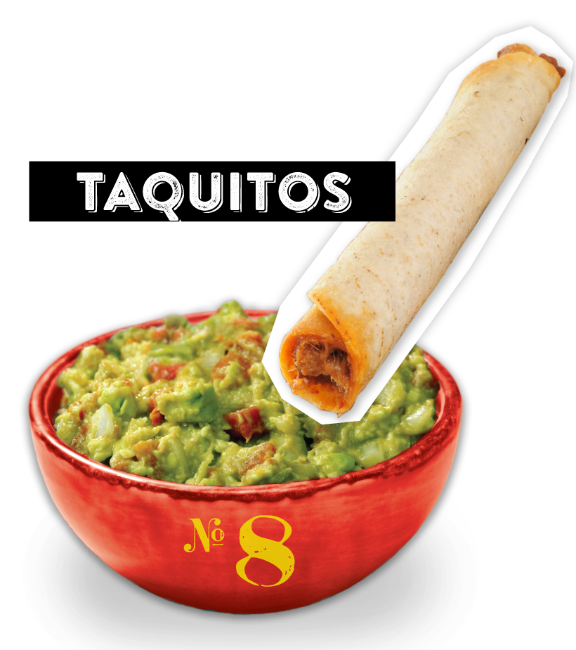 Taquitos Guacamole Dipper