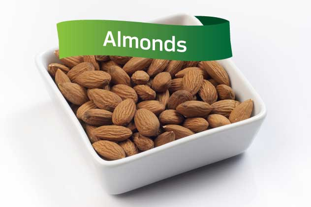 Work Snack: Almonds