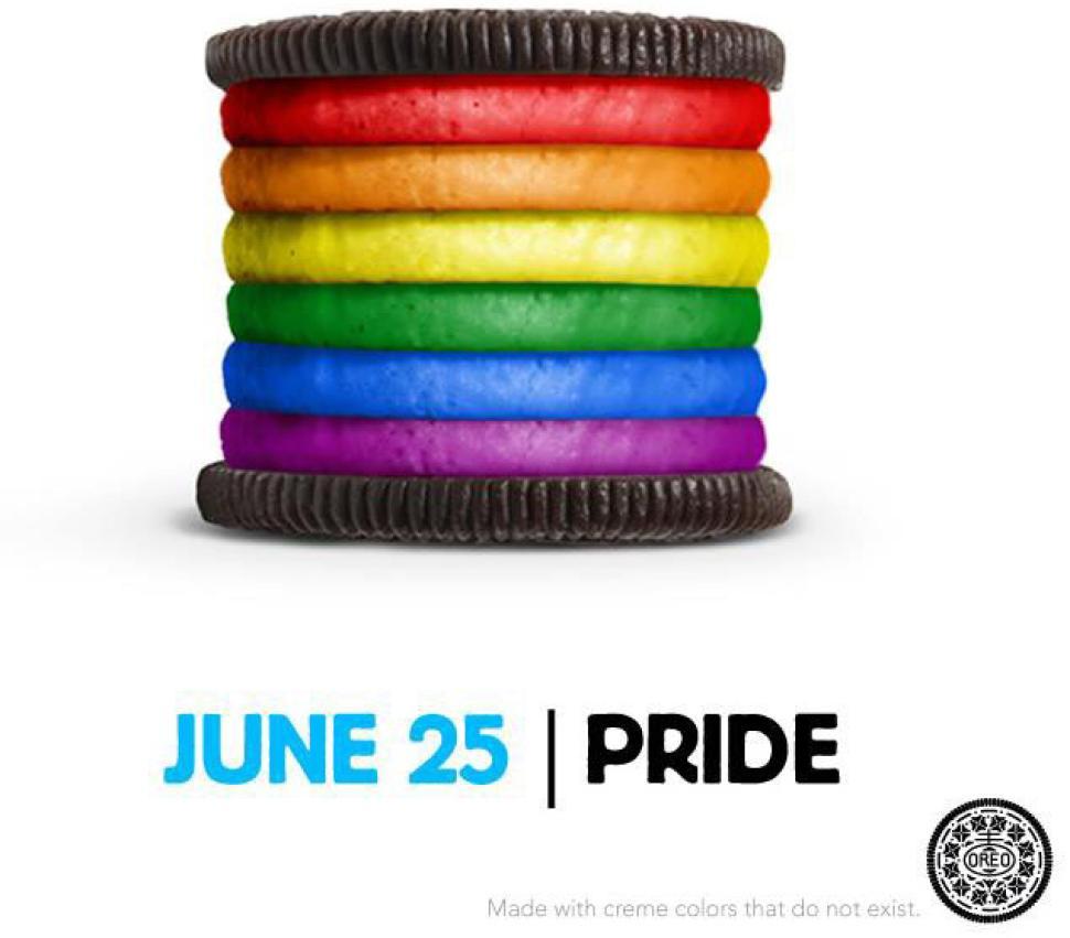 Oreo LGBT Pride Tweet