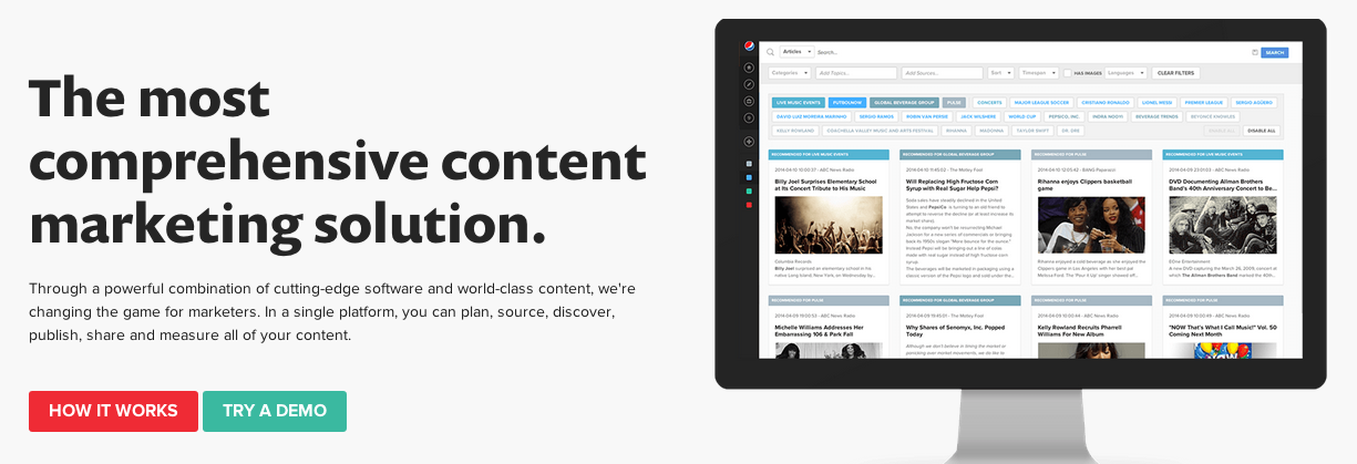 NewsCred Content Marketing Software